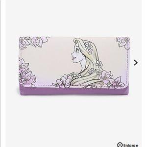 Loungefly Disney tangled rapanzel sketch wallet